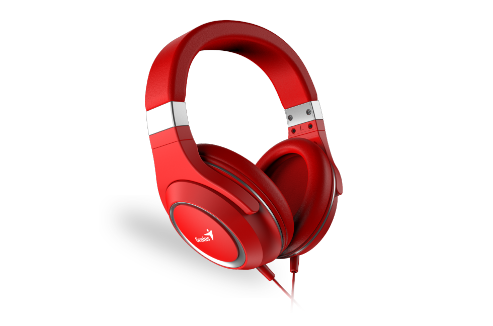 Наушники Genius HS-610 красные